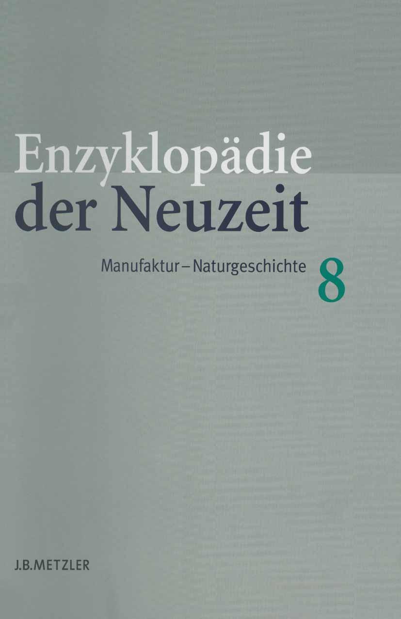 Jaeger, Friedrich - Enzyklopädie der Neuzeit, e-kirja