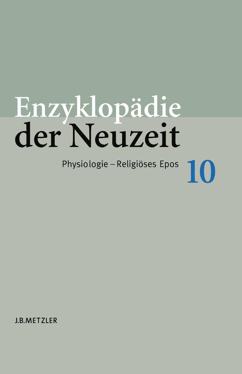 Jaeger, Friedrich - Enzyklopädie der Neuzeit, ebook