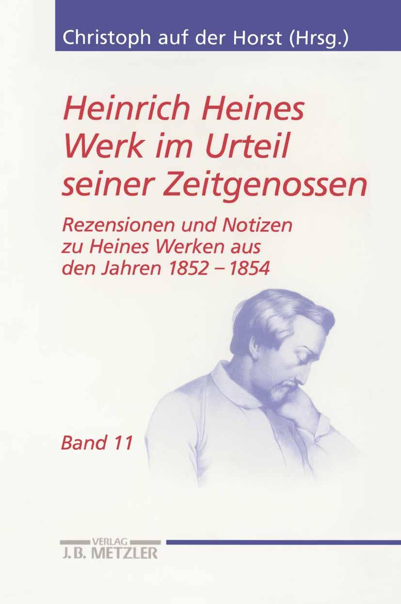 Horst, Christoph - Heinrich Heines Werk im Urteil seiner Zeitgenossen, ebook