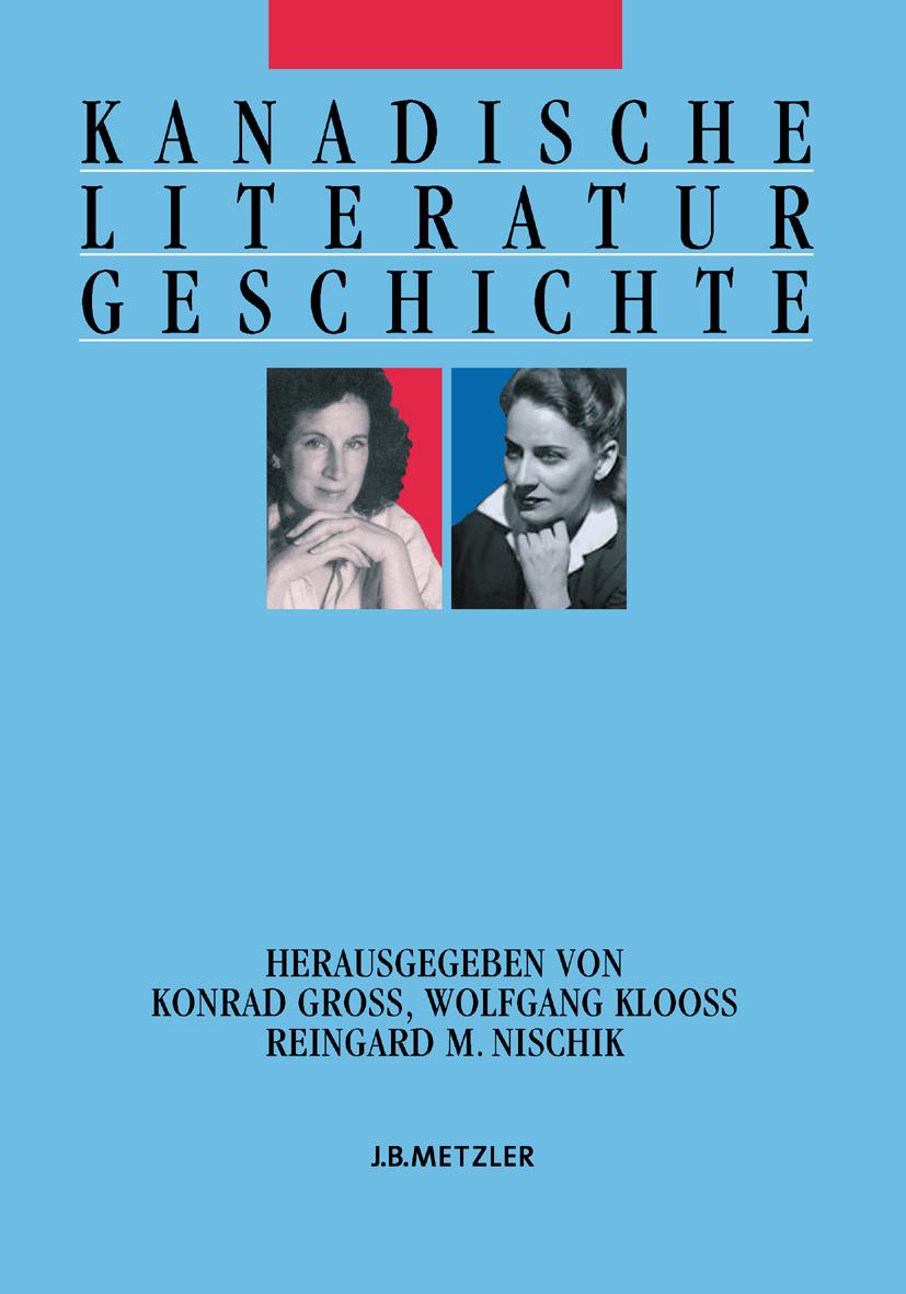 Antor, Heinz - Kanadische Literaturgeschichte, ebook
