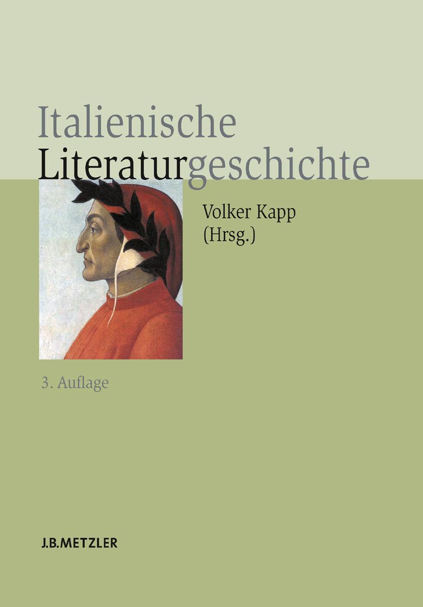 Kapp, Volker - Italienische Literaturgeschichte, ebook