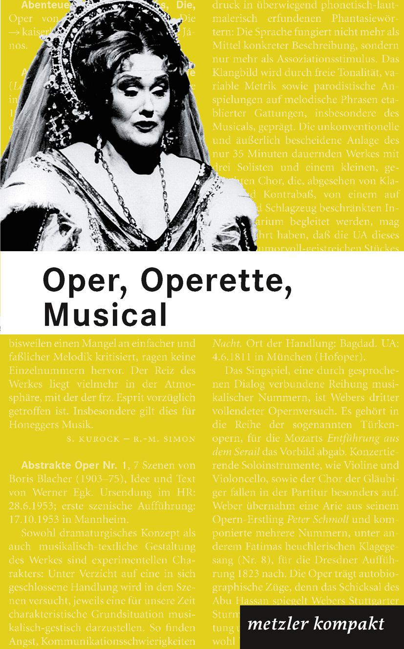 Becker, Heinz - Oper, Operette, Musical, ebook