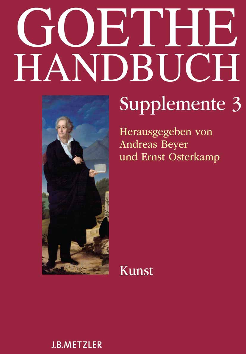Beyer, Andreas - Goethe Handbuch, ebook