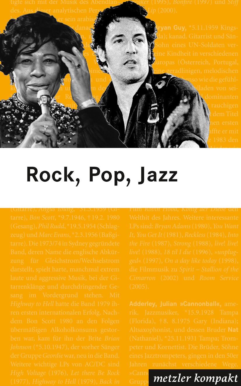 Bachmann, K. R. - Rock Pop Jazz, ebook