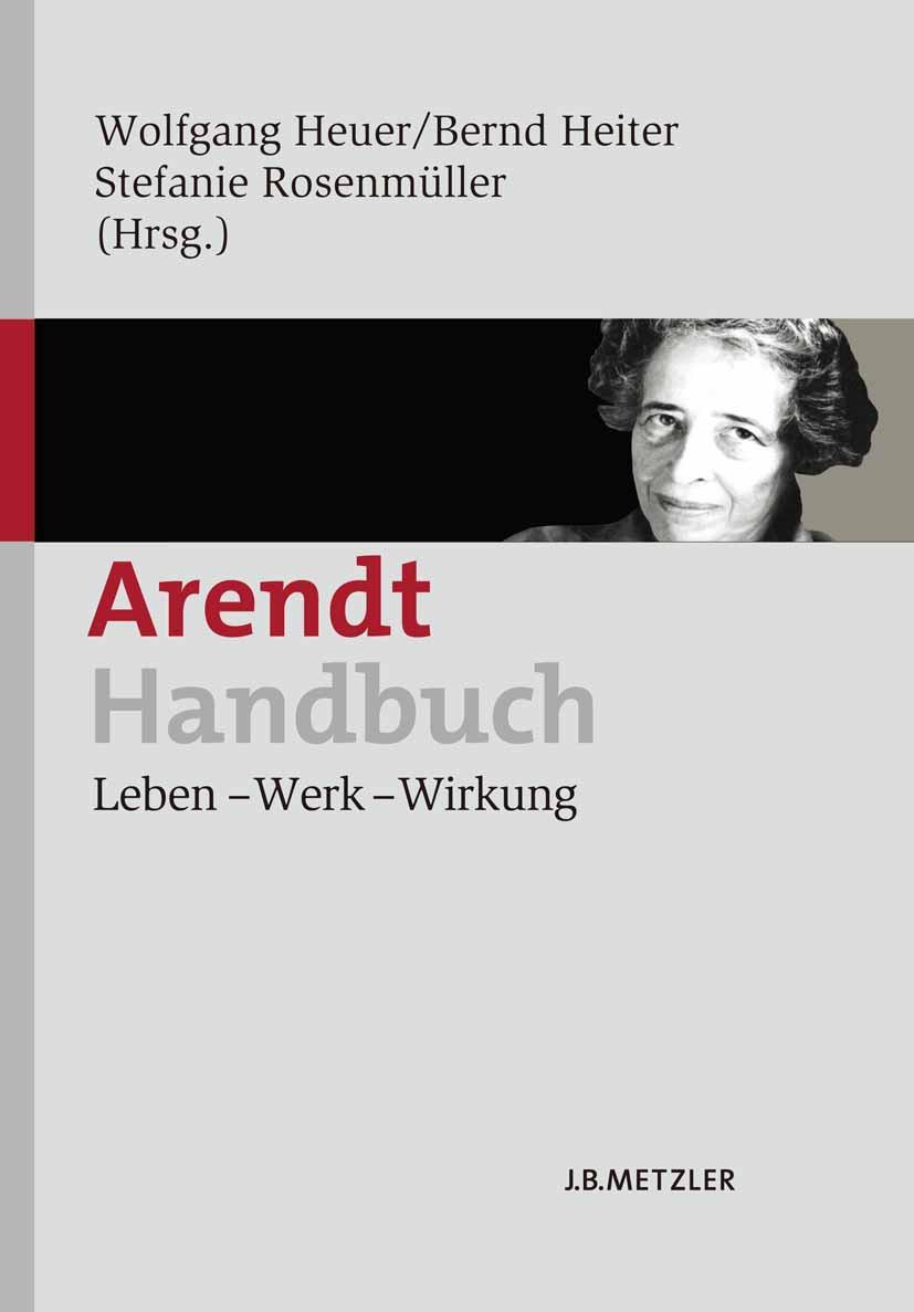 Heiter, Bernd - Arendt-Handbuch, ebook