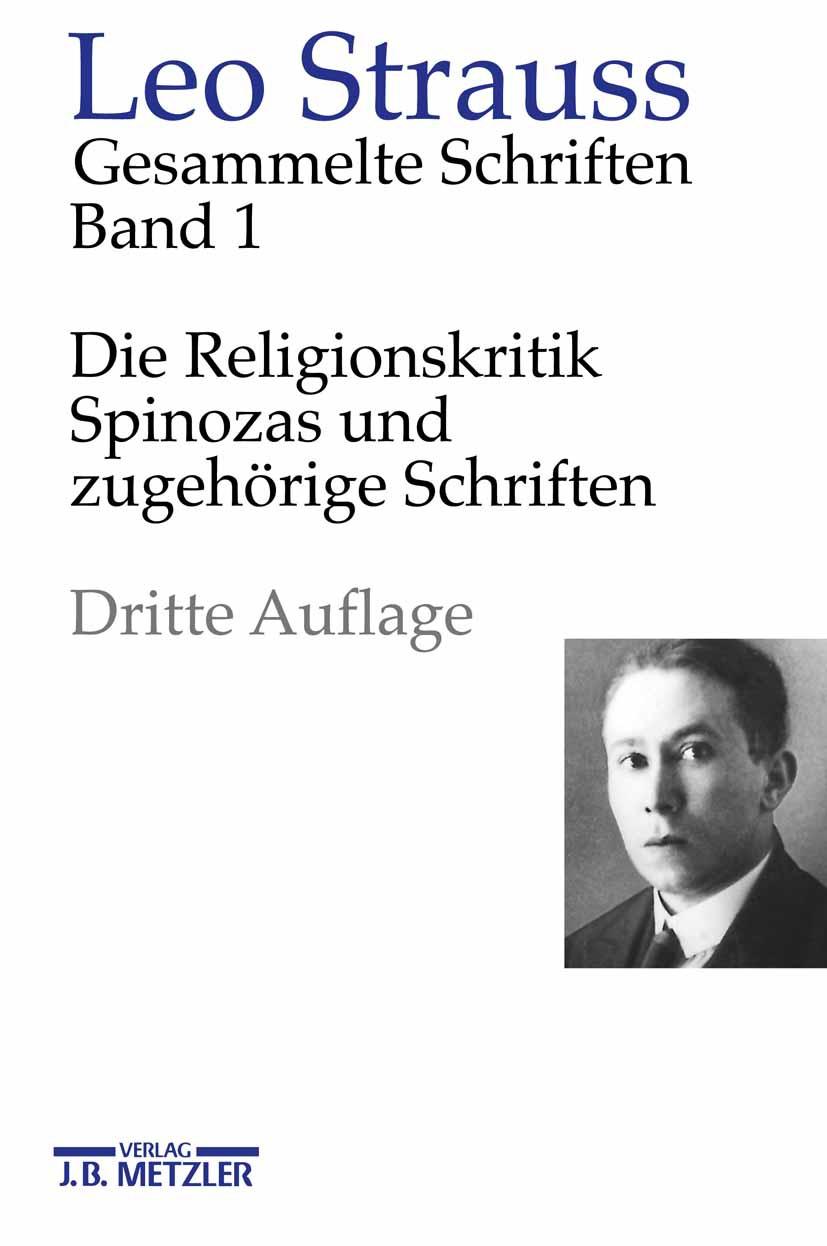 Strauss, Leo - Die Religionskritik Spinozas und zugehörige Schriften, ebook