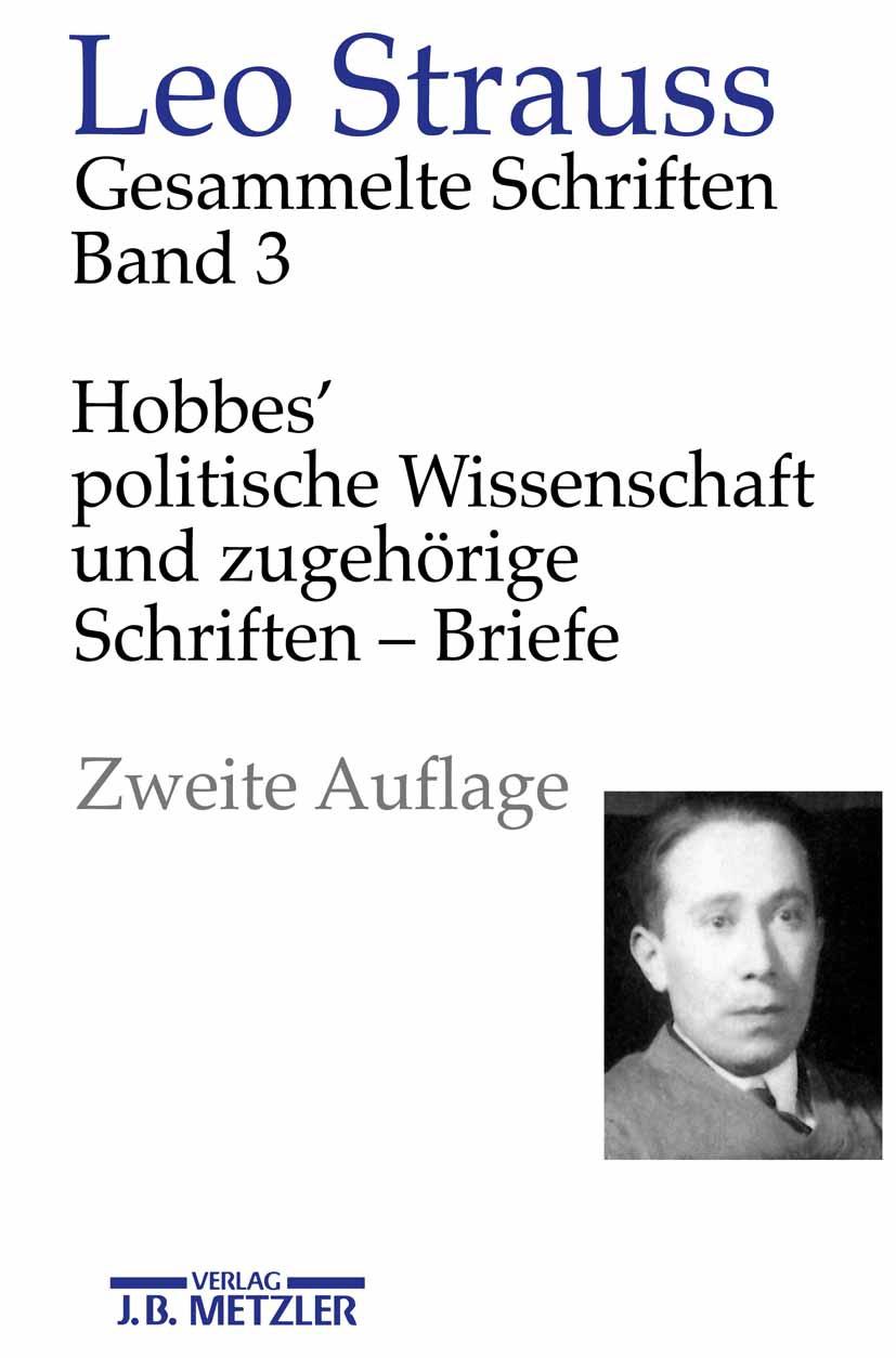 Strauss, Leo - Hobbes' politische Wissenschaft und zugehörige Schriften — Briefe, ebook
