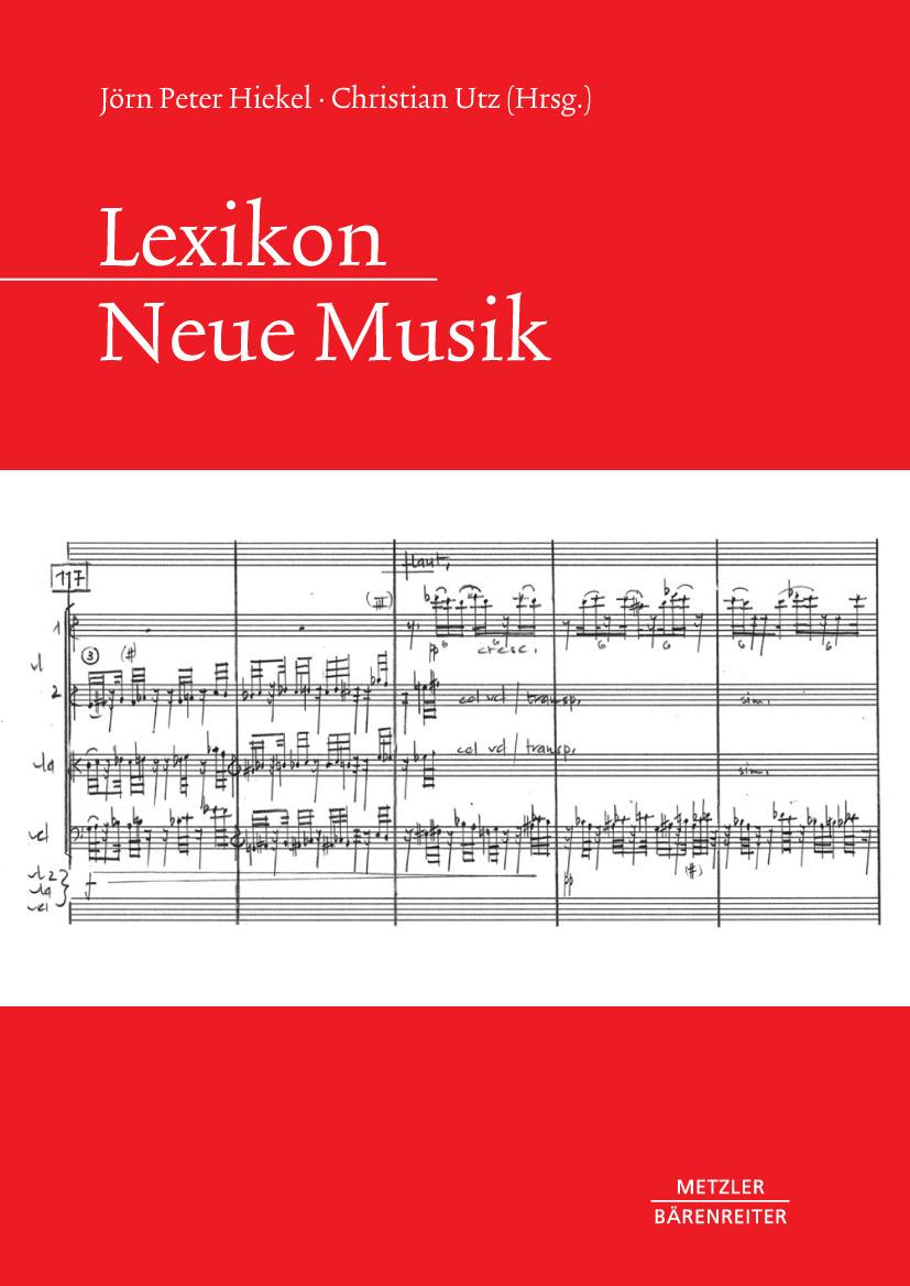 Hiekel, Jörn Peter - Lexikon Neue Musik, e-kirja