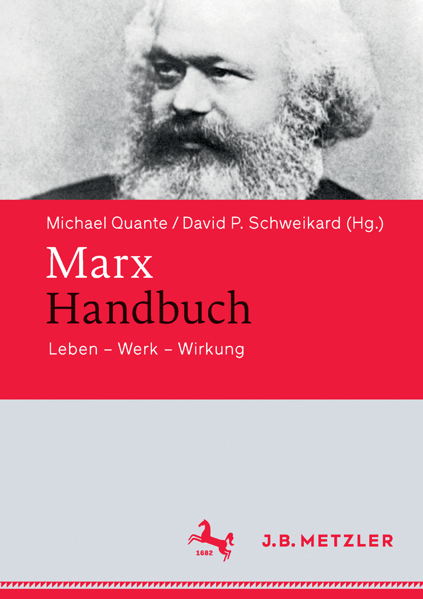 Quante, Michael - Marx-Handbuch, ebook