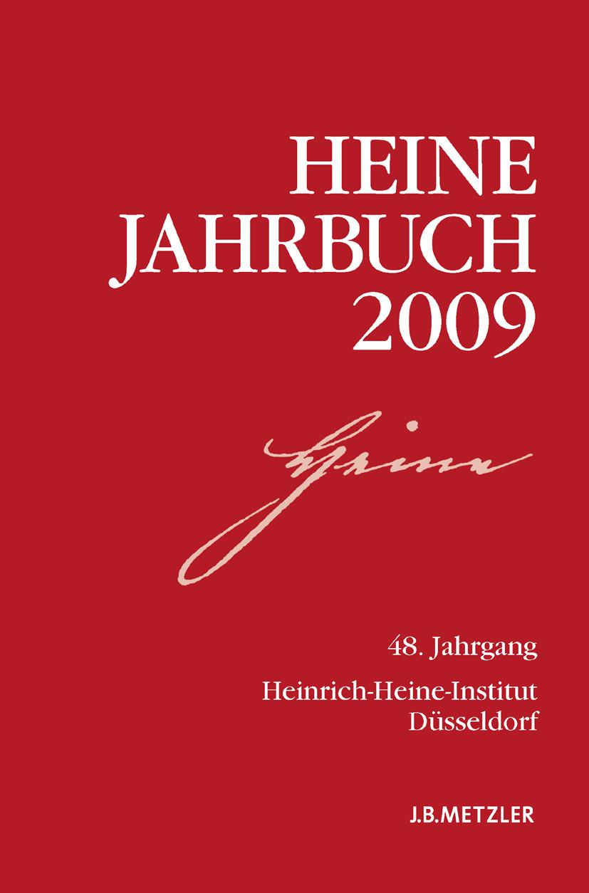 Kruse, Joseph A. - Heine-Jahrbuch 2009, ebook