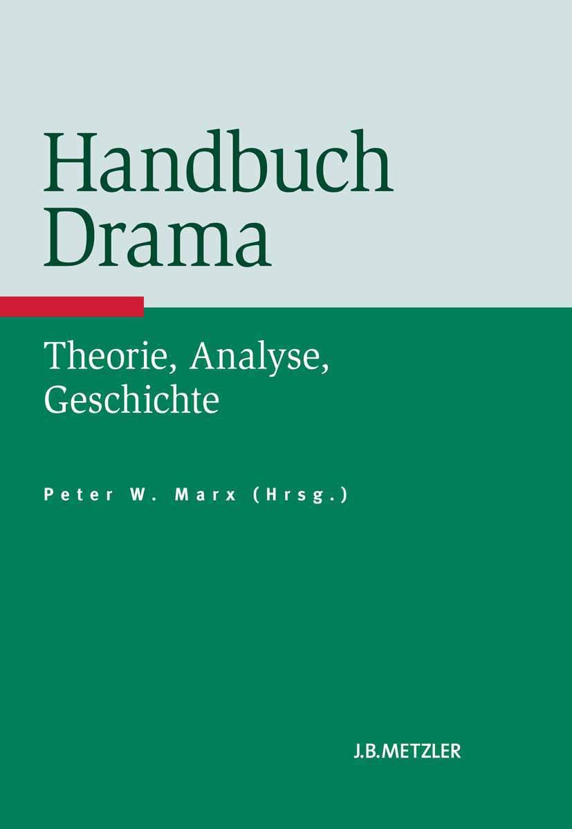 Marx, Peter W. - Handbuch Drama, ebook
