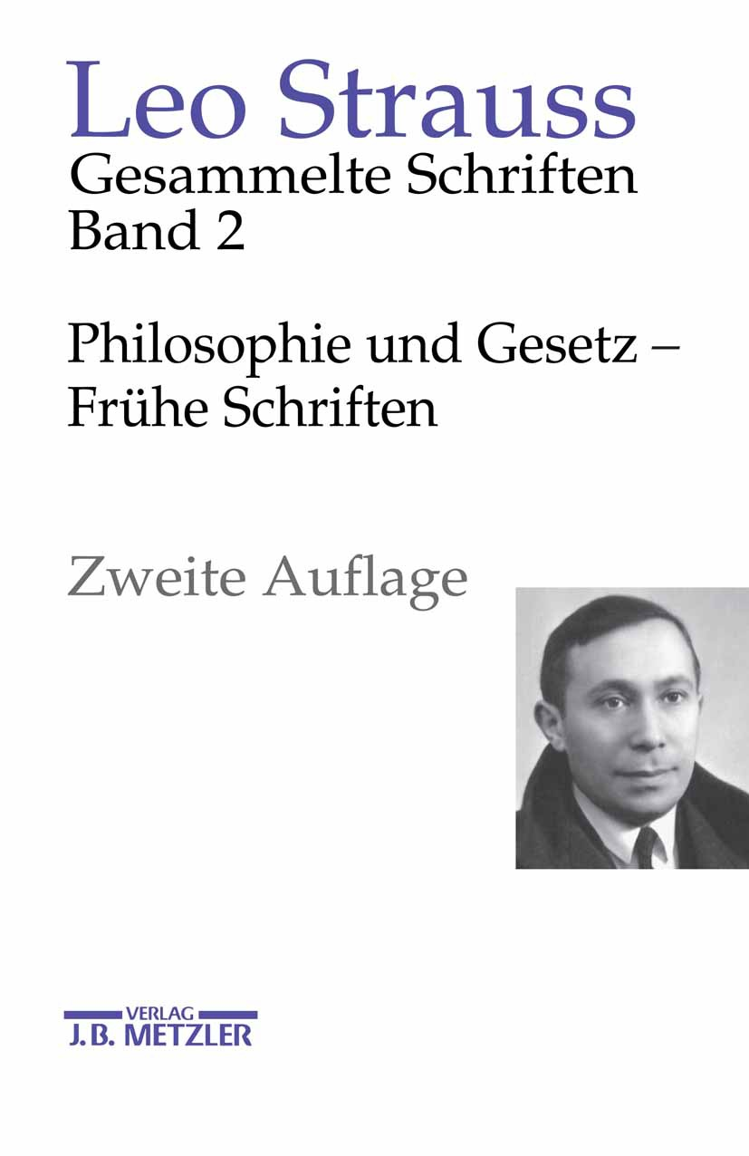 Strauss, Leo - Gesammelte Schriften, ebook