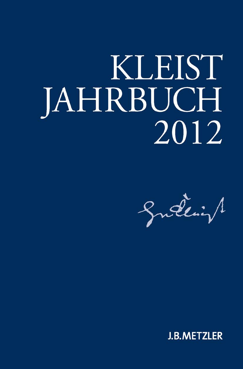 Blamberger, Günter - Kleist-Jahrbuch 2012, ebook