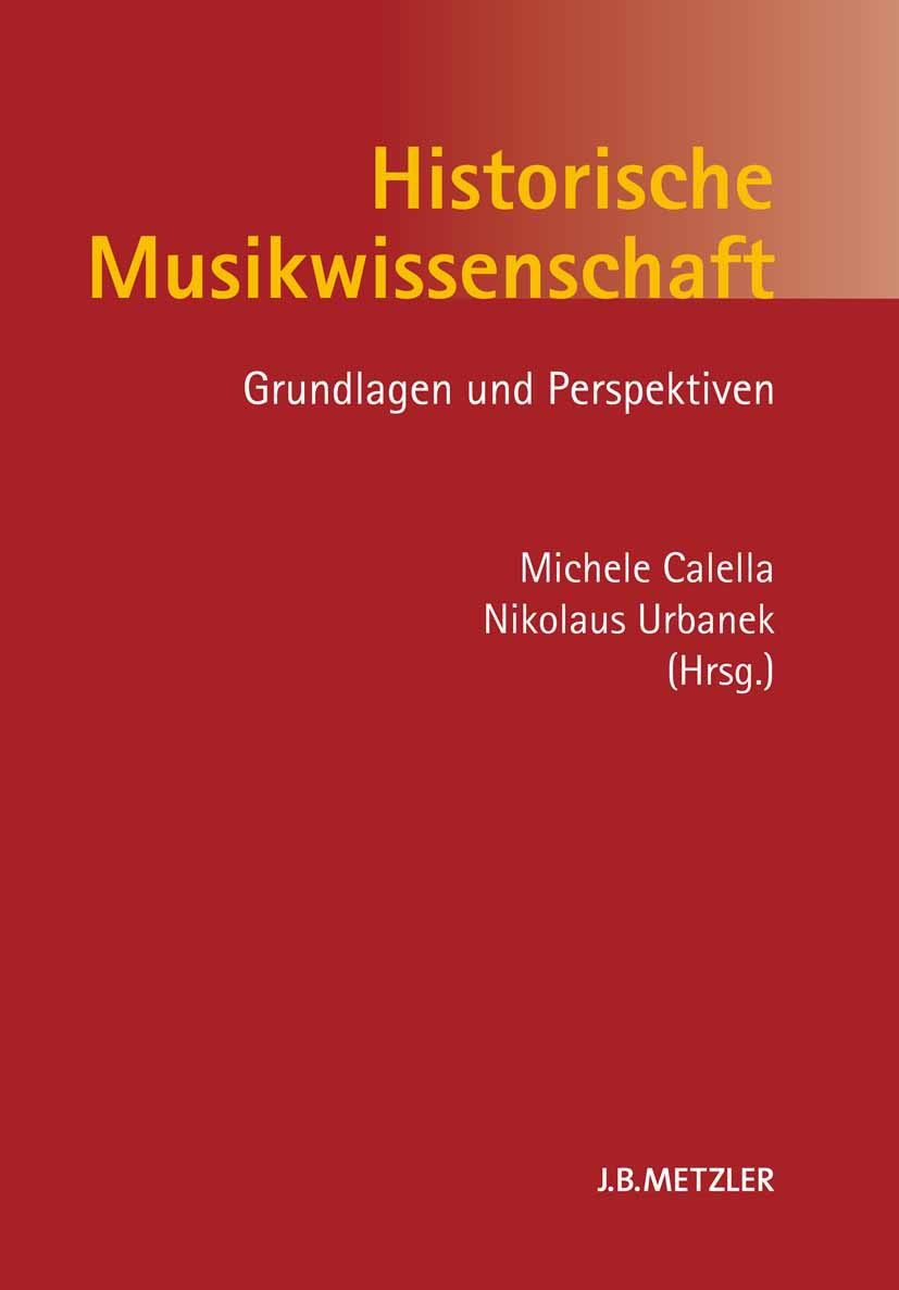 Calella, Michele - Historische Musikwissenschaft, e-bok