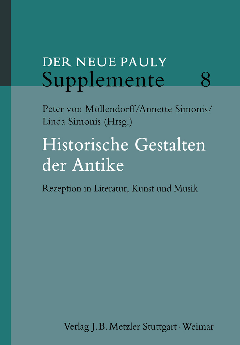 Möllendorff, Peter - Historische Gestalten der Antike, e-kirja