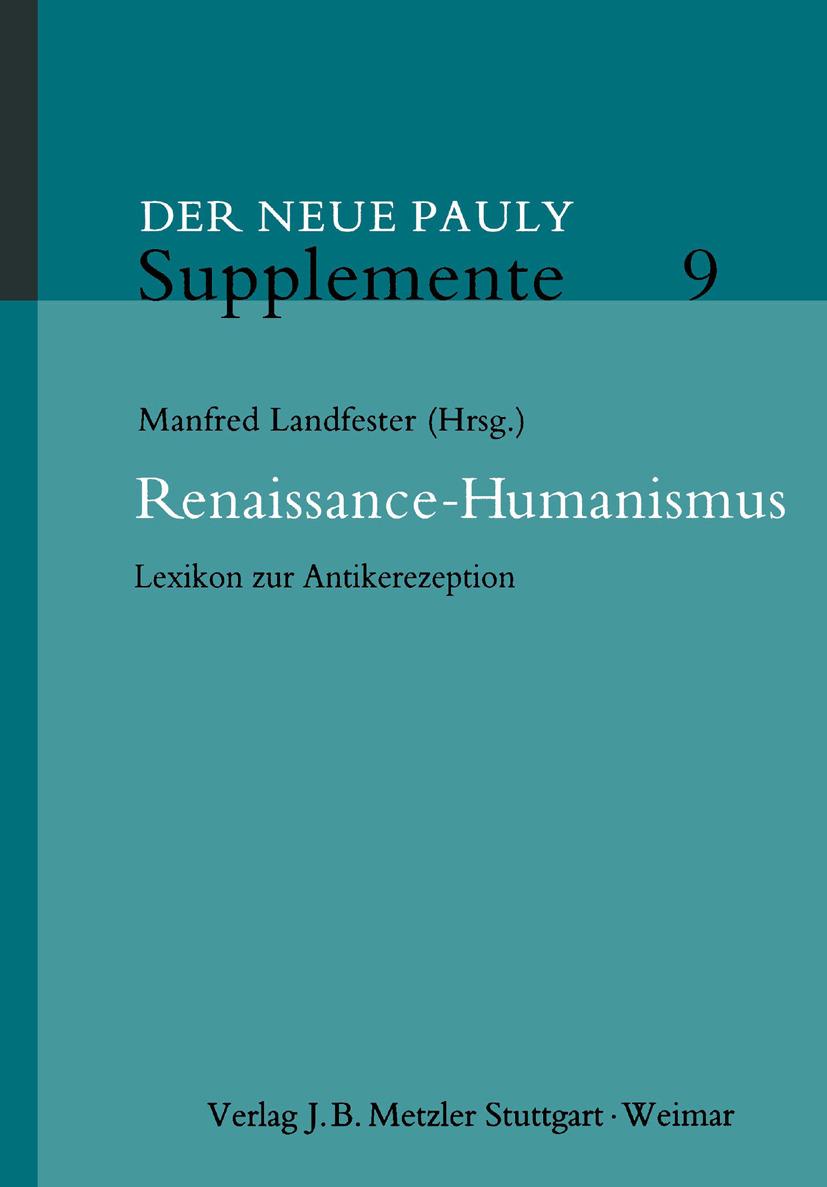 Landfester, Manfred - Renaissance-Humanismus, ebook