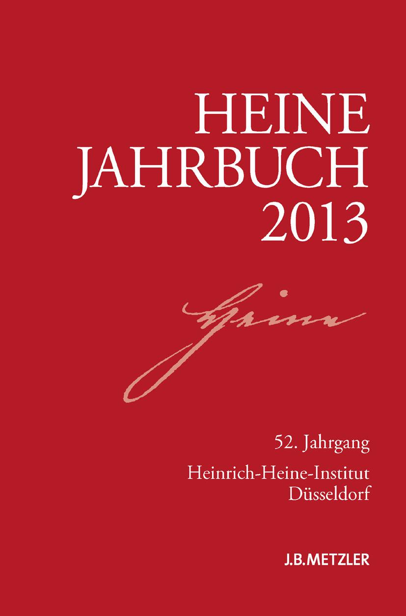 Brenner-Wilczek, Sabine - Heine-Jahrbuch 2013, ebook