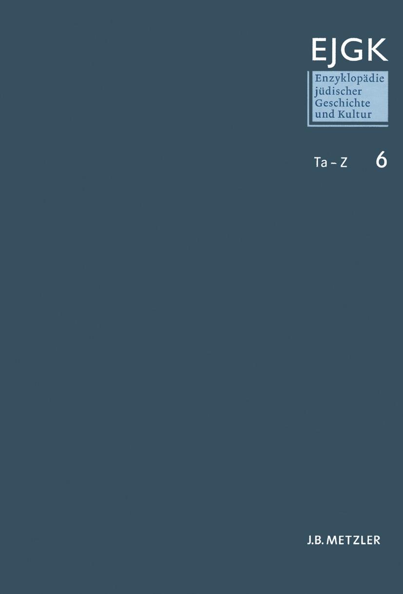 Diner, Dan - Enzyklopädie jüdischer Geschichte und Kultur, ebook