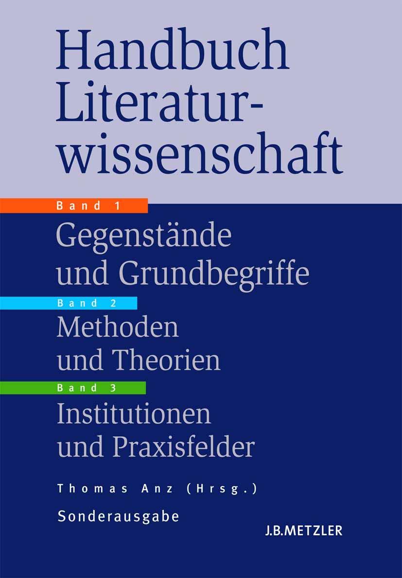 Anz, Thomas - Handbuch Literaturwissenschaft, ebook