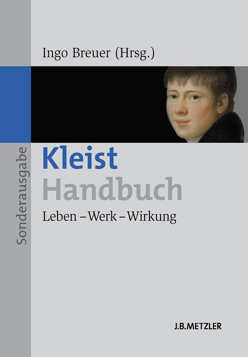 Breuer, Ingo - Kleist-Handbuch, ebook