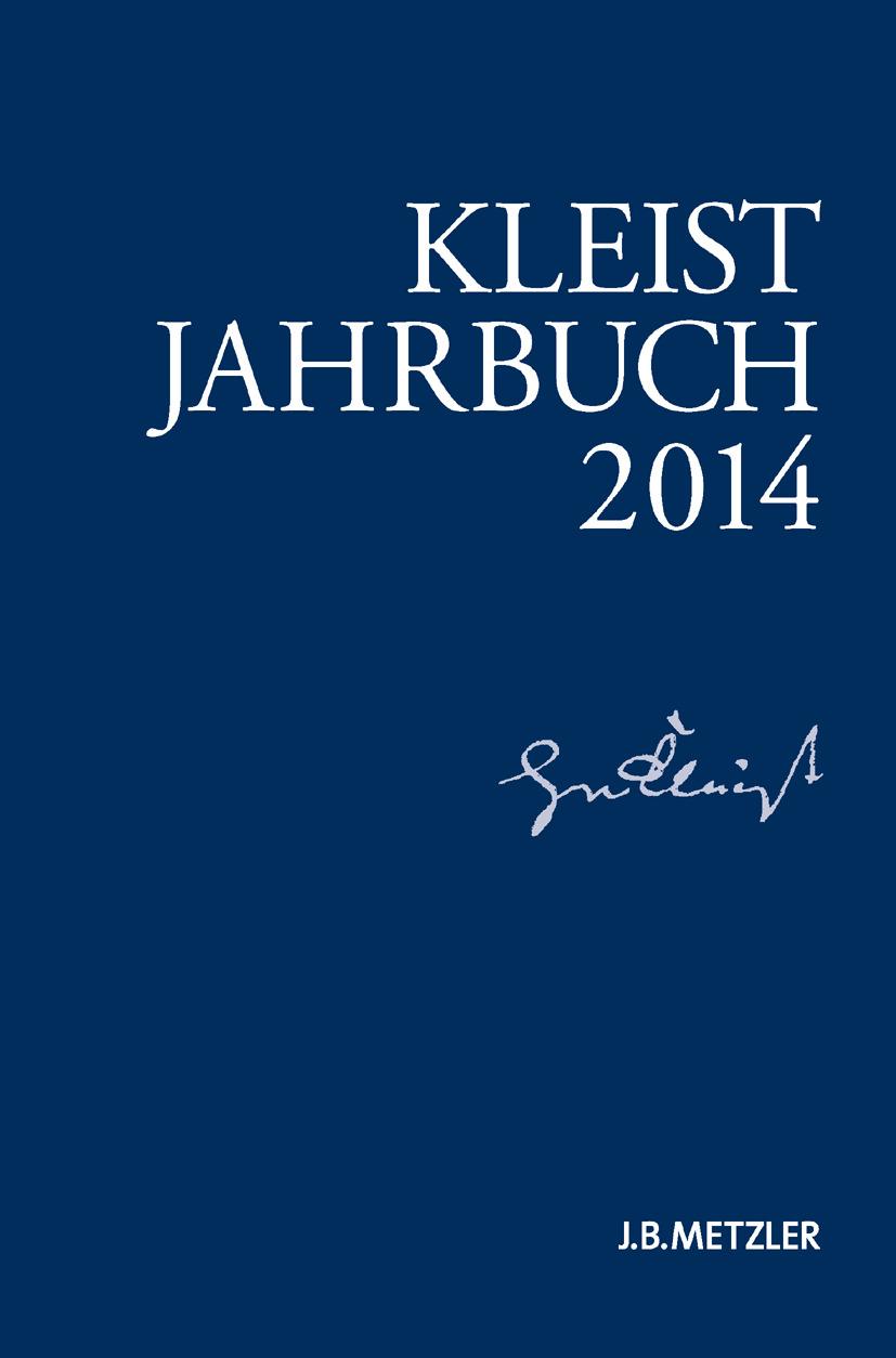 Blamberger, Günter - Kleist-Jahrbuch 2014, ebook