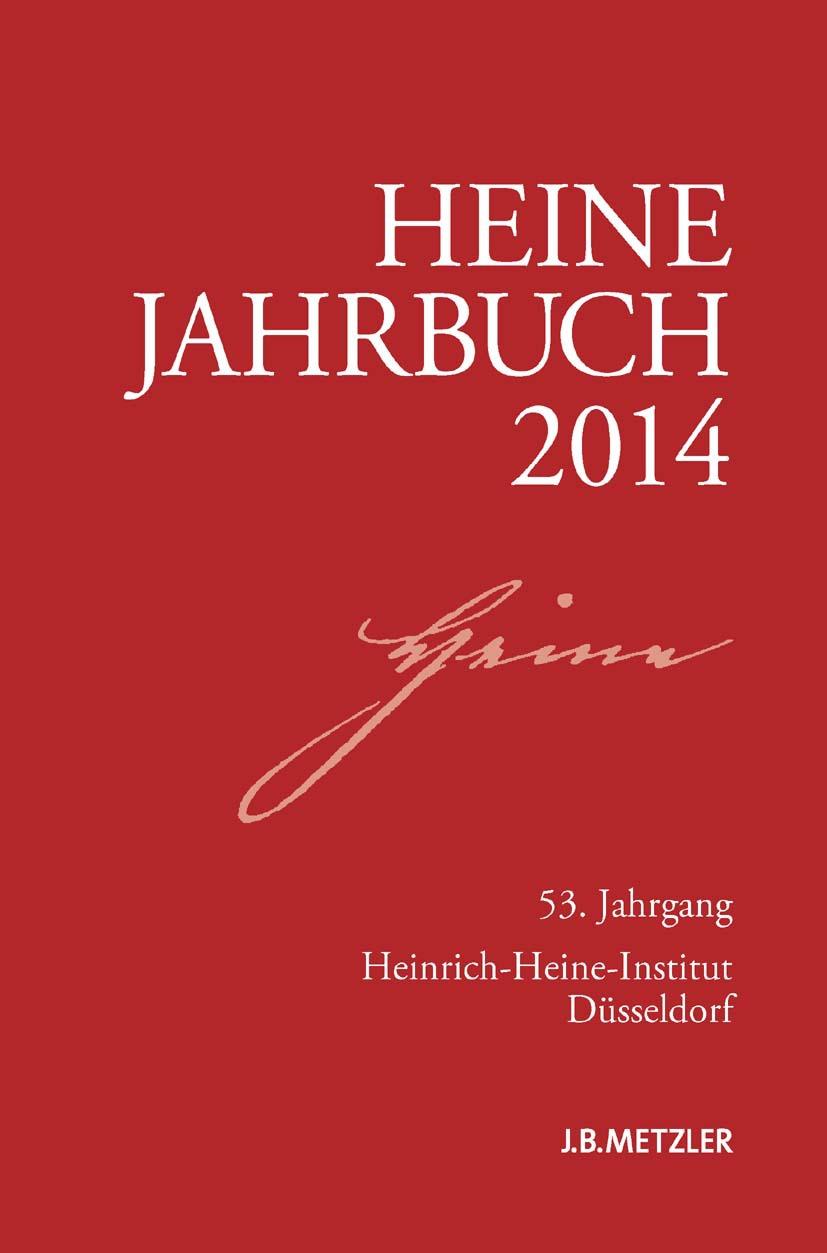Brenner-Wilczek, Sabine - Heine Jahrbuch 2014, ebook