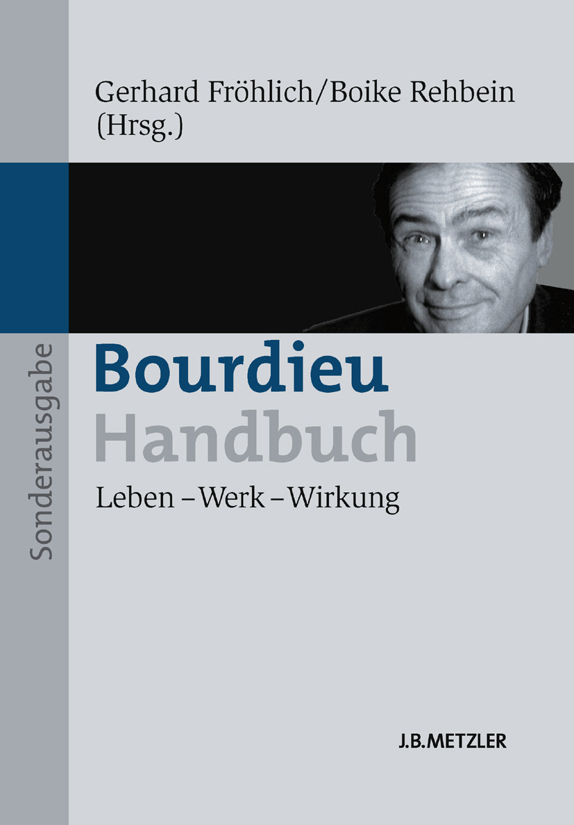 Fröhlich, Gerhard - Bourdieu-Handbuch, ebook