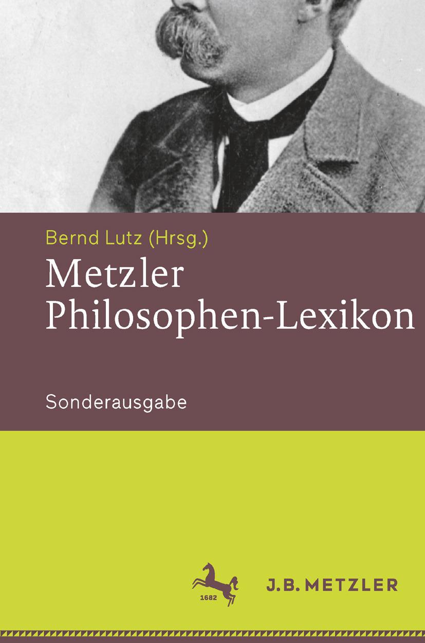Lutz, Bernd - Metzler Philosophen Lexikon, ebook