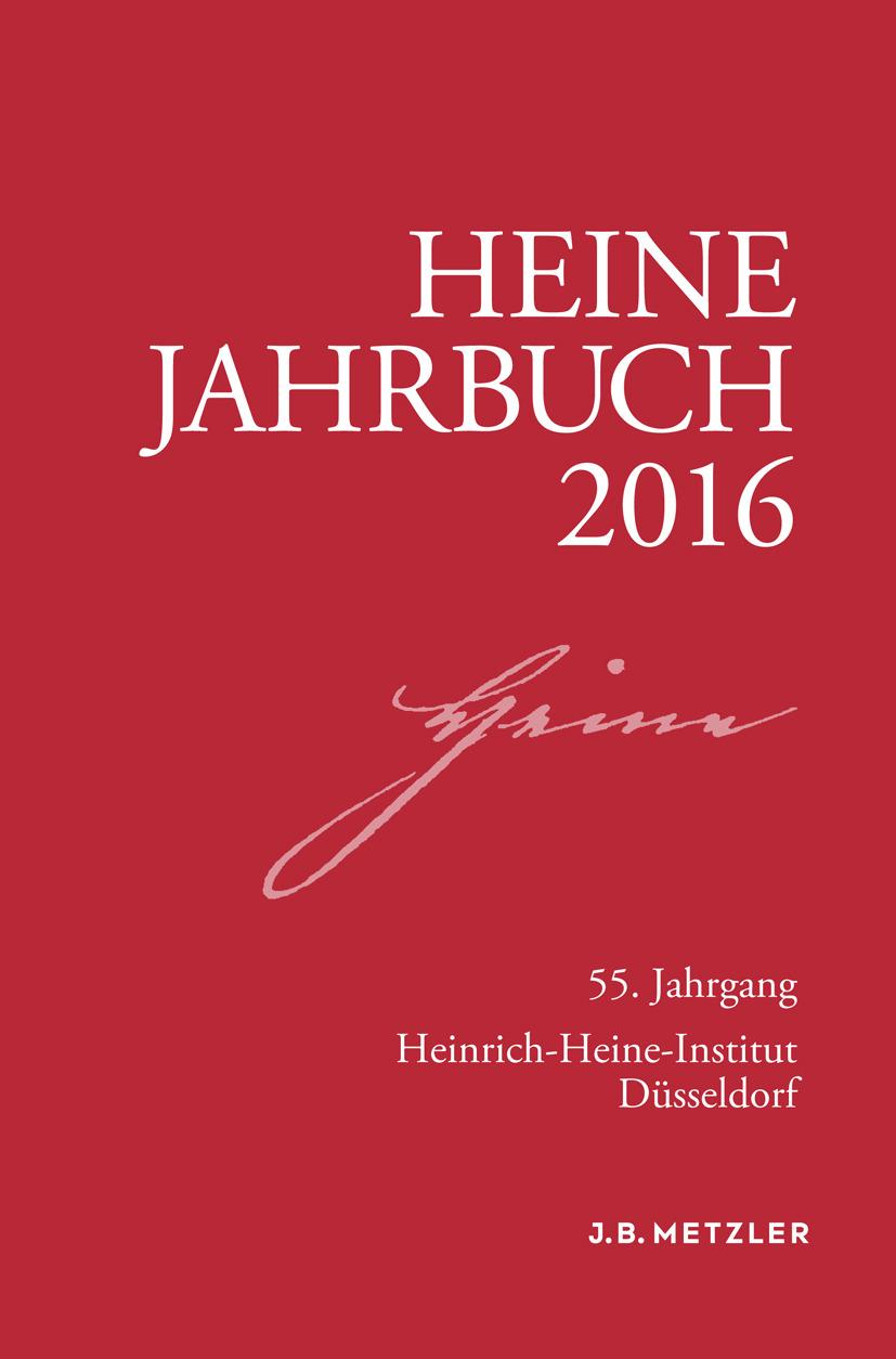 Brenner-Wilczek, Sabine - Heine-Jahrbuch 2016, ebook