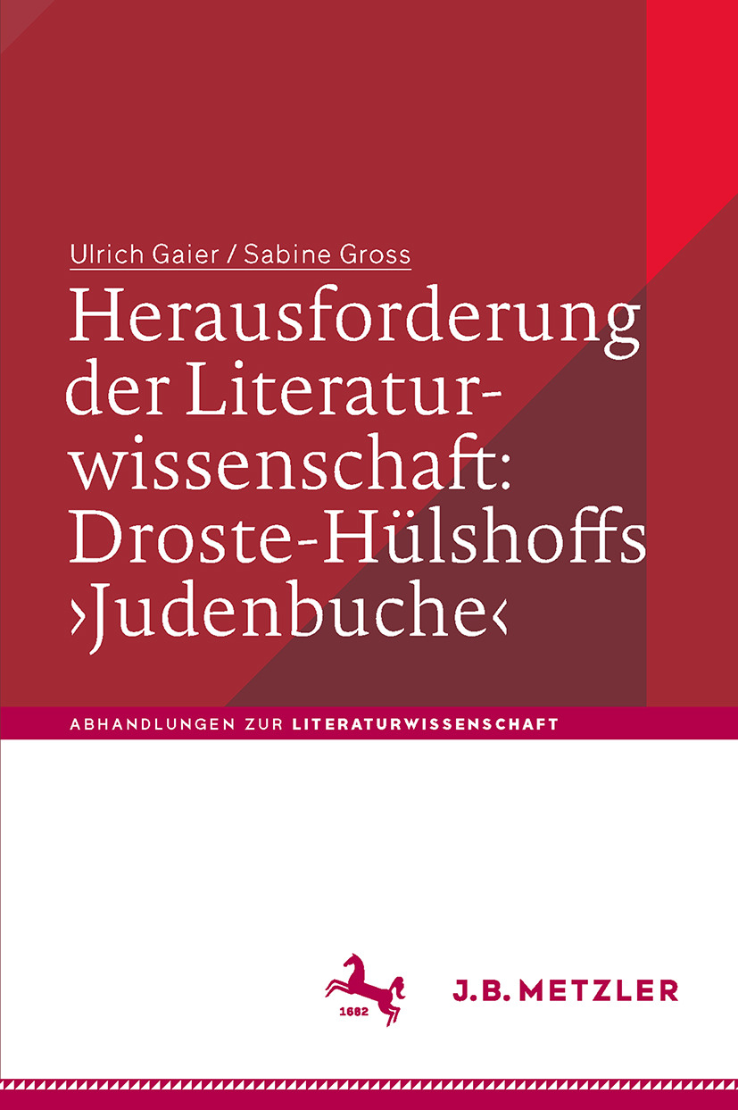 Gaier, Ulrich - Herausforderung der Literaturwissenschaft: Droste-Hülshoffs ›Judenbuche‹, ebook