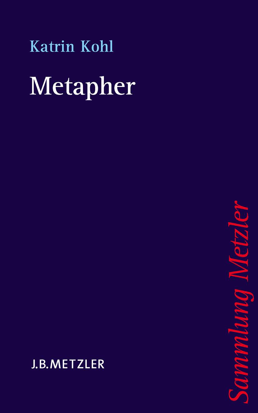Kohl, Katrin - Metapher, ebook