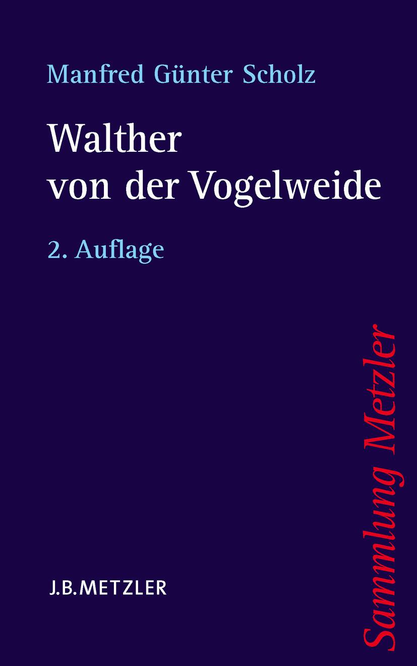 Scholz, Manfred Günter - Walther von der Vogelweide, ebook