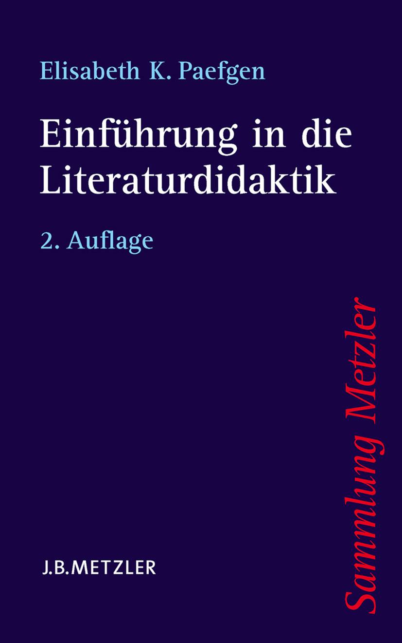 Paefgen, Elisabeth K. - Einführung in die Literaturdidaktik, ebook