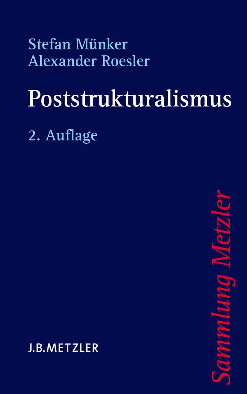 Münker, Stefan - Poststrukturalismus, ebook
