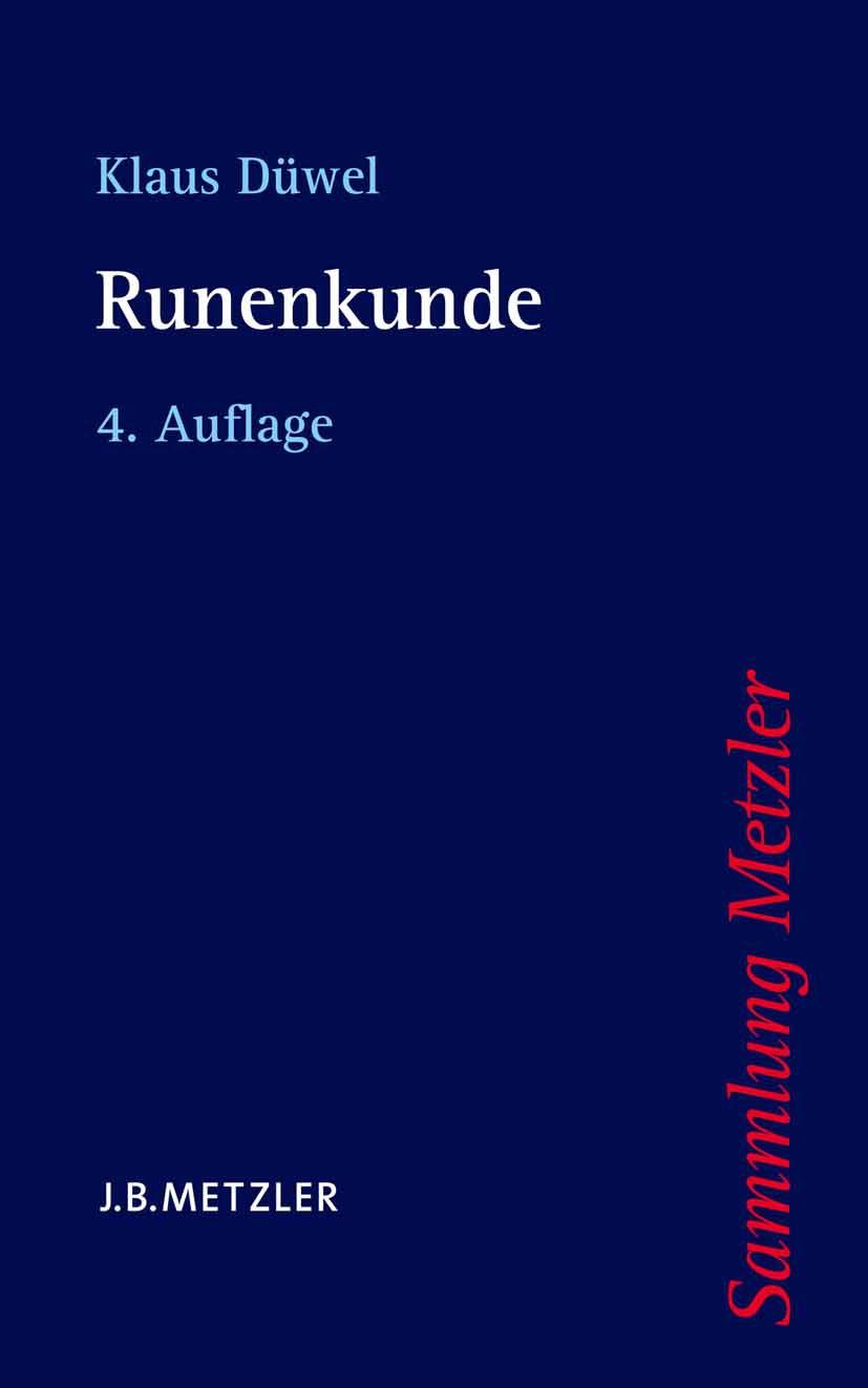 Düwel, Klaus - Runenkunde, ebook