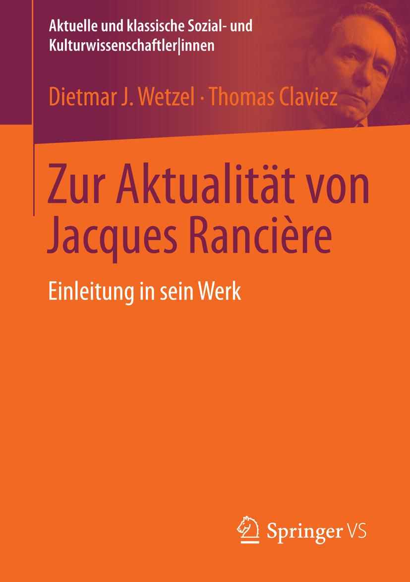 Claviez, Thomas - Zur Aktualität von Jacques Rancière, ebook