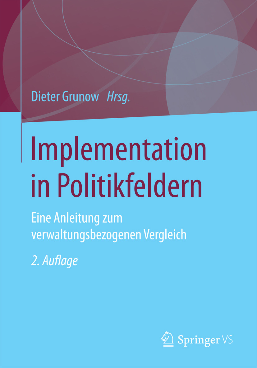 Grunow, Dieter - Implementation in Politikfeldern, ebook