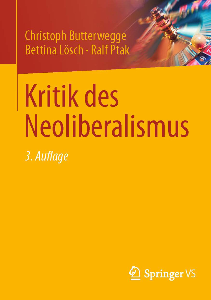 Butterwegge, Christoph - Kritik des Neoliberalismus, ebook