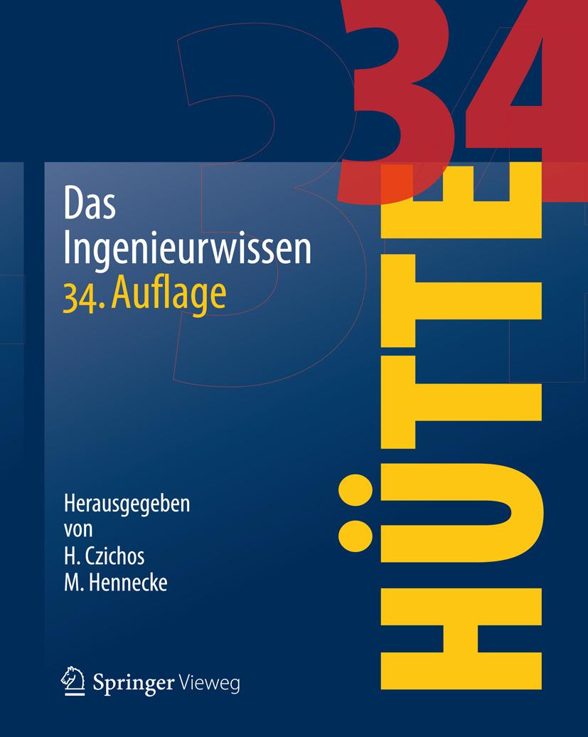 Czichos, Horst - HÜTTE - Das Ingenieurwissen, ebook