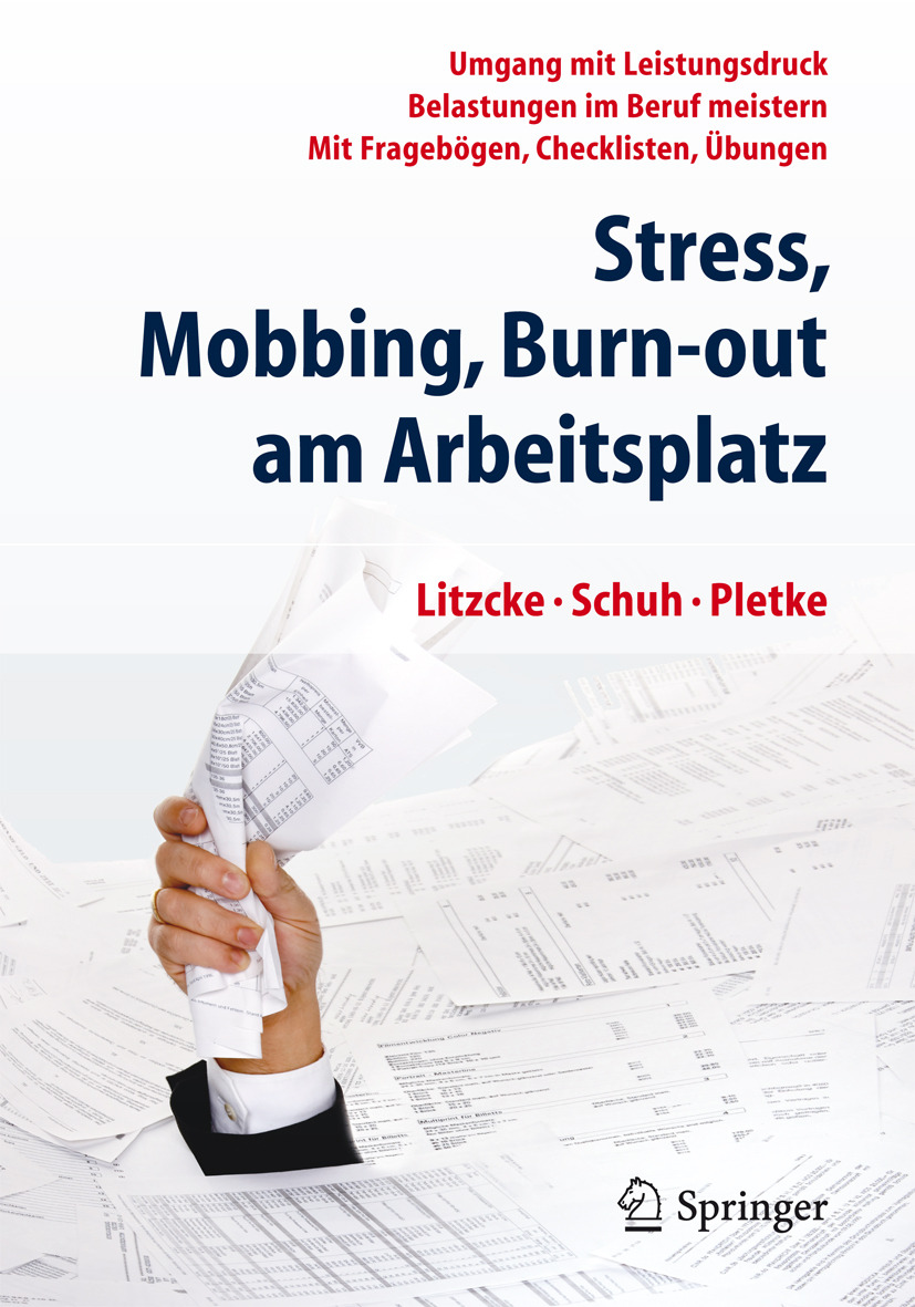 Litzcke, Sven - Stress, Mobbing und Burn-out am Arbeitsplatz, ebook