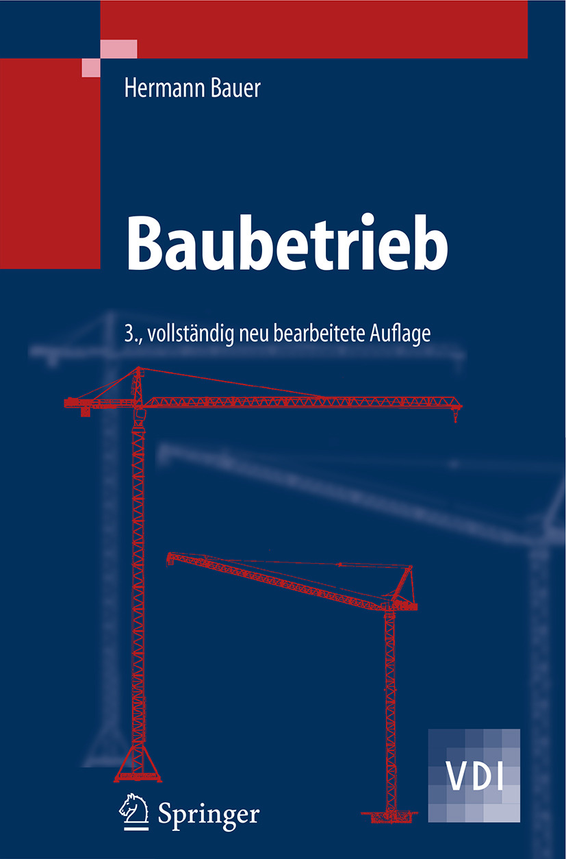 Bauer, Hermann - Baubetrieb, ebook