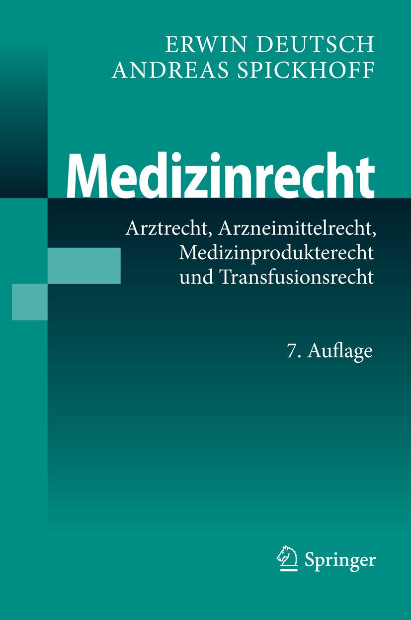 Deutsch, Erwin - Medizinrecht, ebook