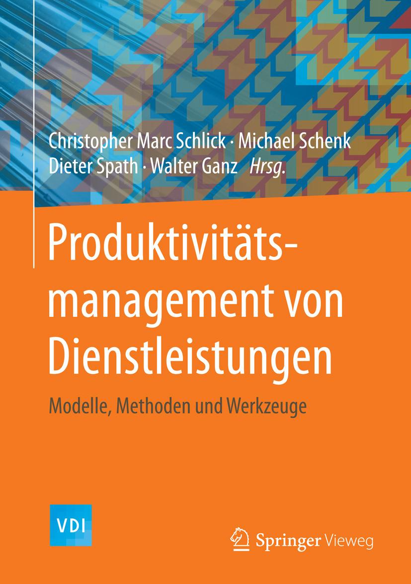 Ganz, Walter - Produktivitätsmanagement von Dienstleistungen, ebook
