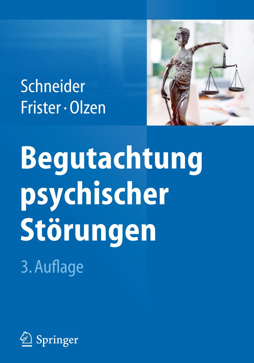 Frister, Helmut - Begutachtung psychischer Störungen, ebook