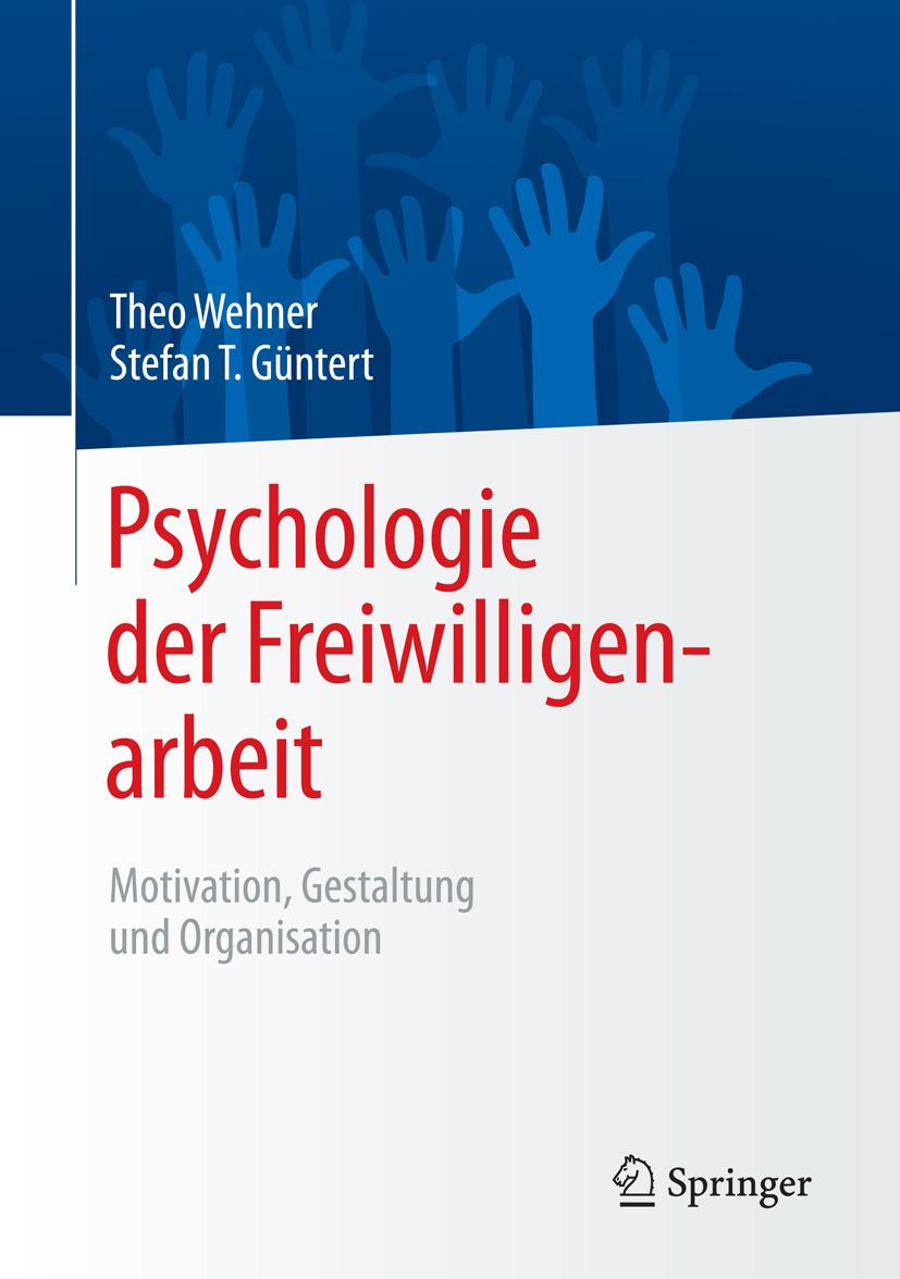 Güntert, Stefan T. - Psychologie der Freiwilligenarbeit, ebook