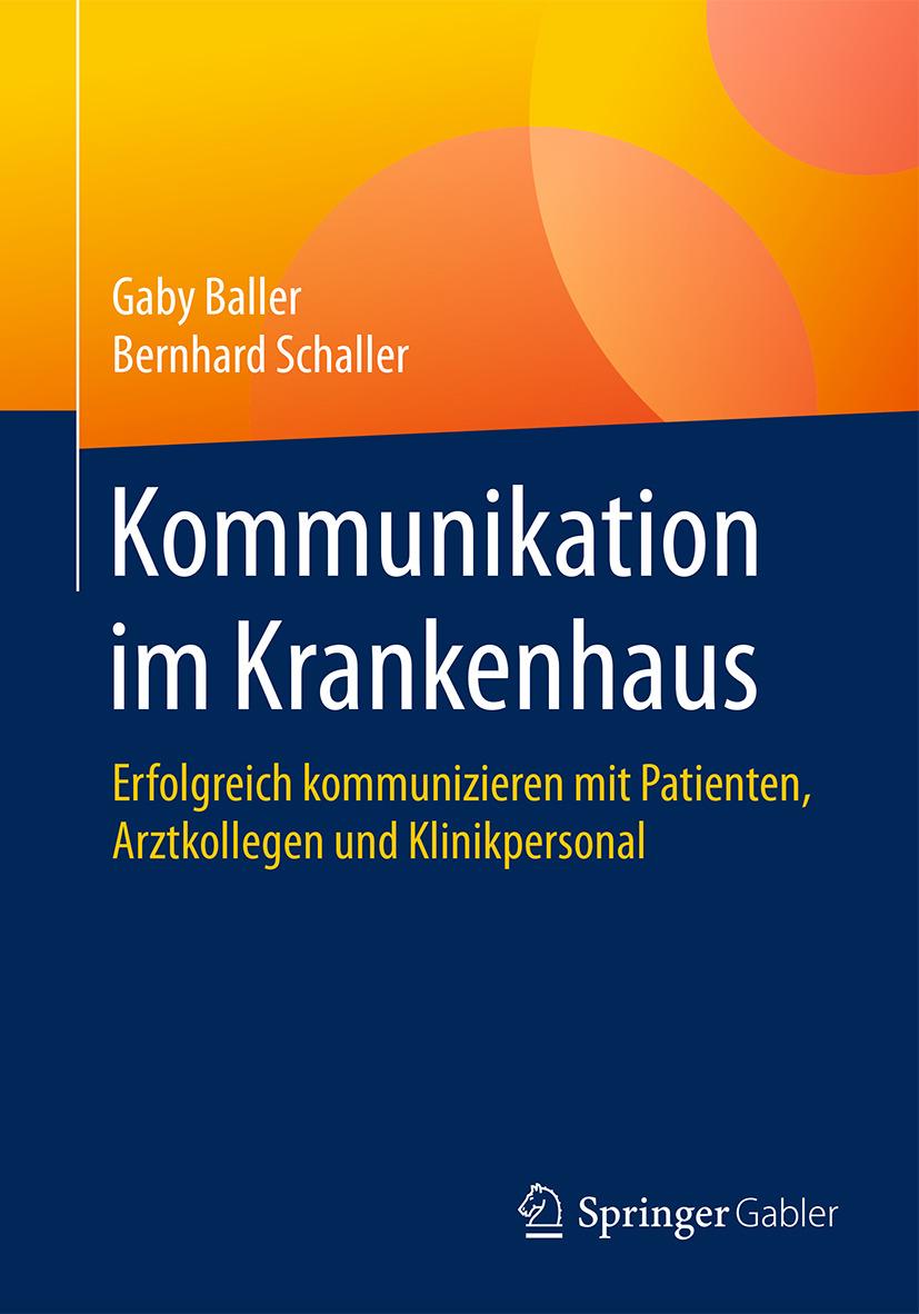 Baller, Gaby - Kommunikation im Krankenhaus, ebook