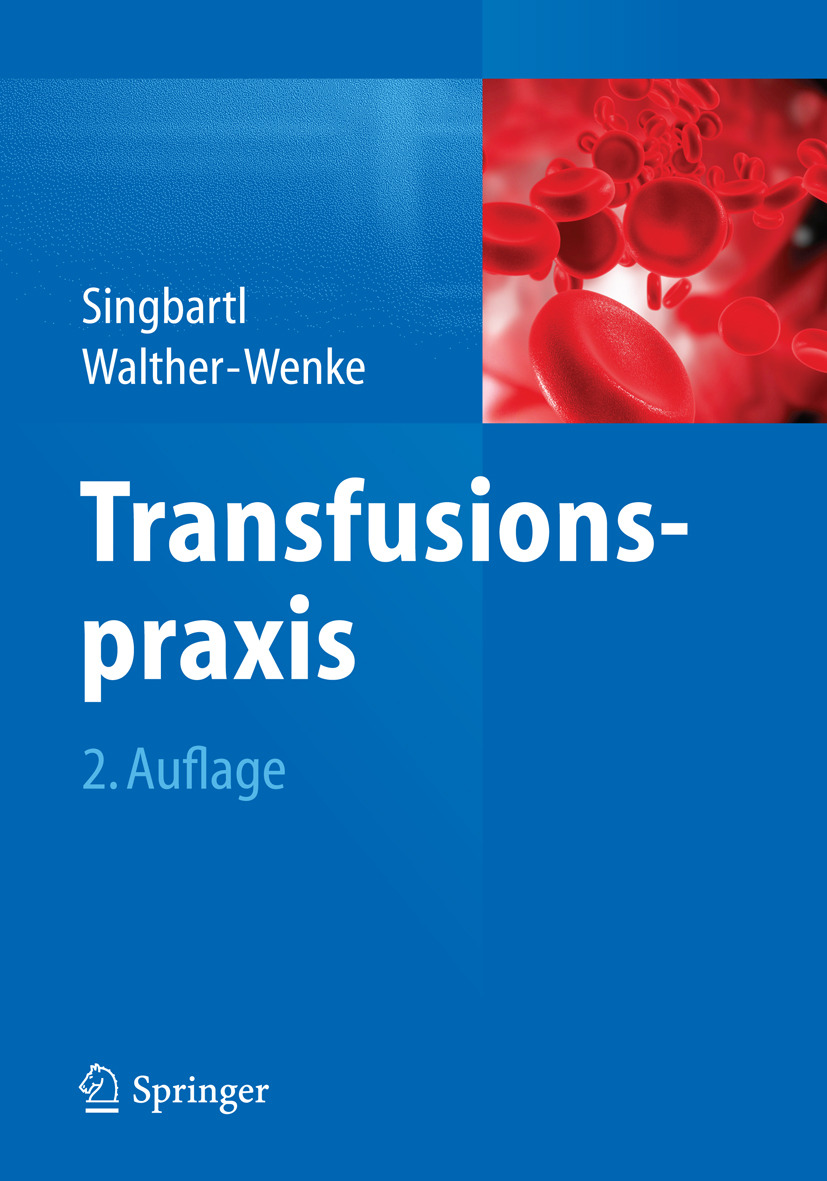 Singbartl, Günter - Transfusionspraxis, ebook