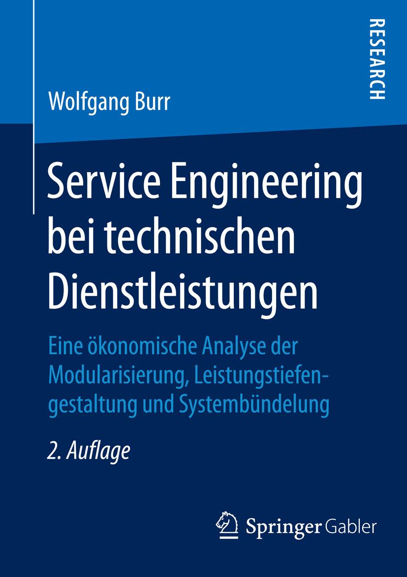 Burr, Wolfgang - Service Engineering bei technischen Dienstleistungen, ebook