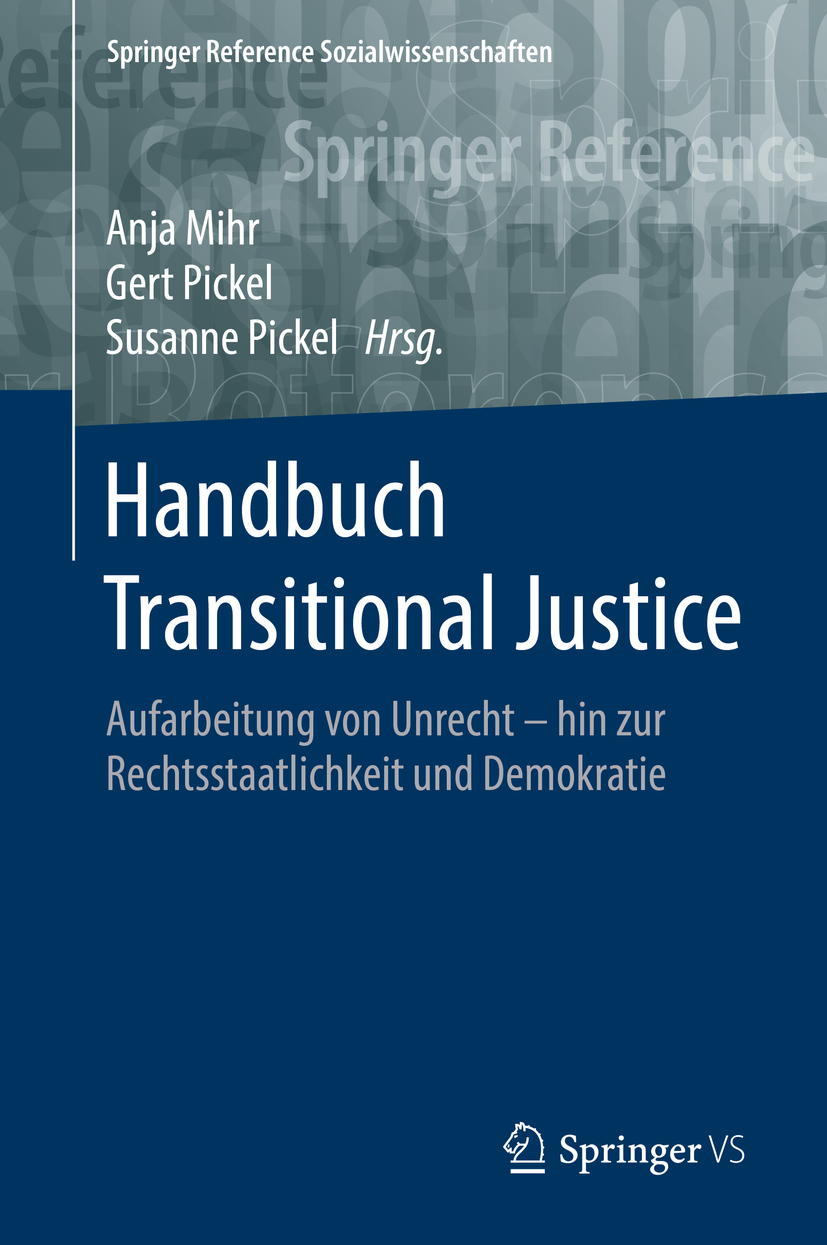 Mihr, Anja - Handbuch Transitional Justice, ebook