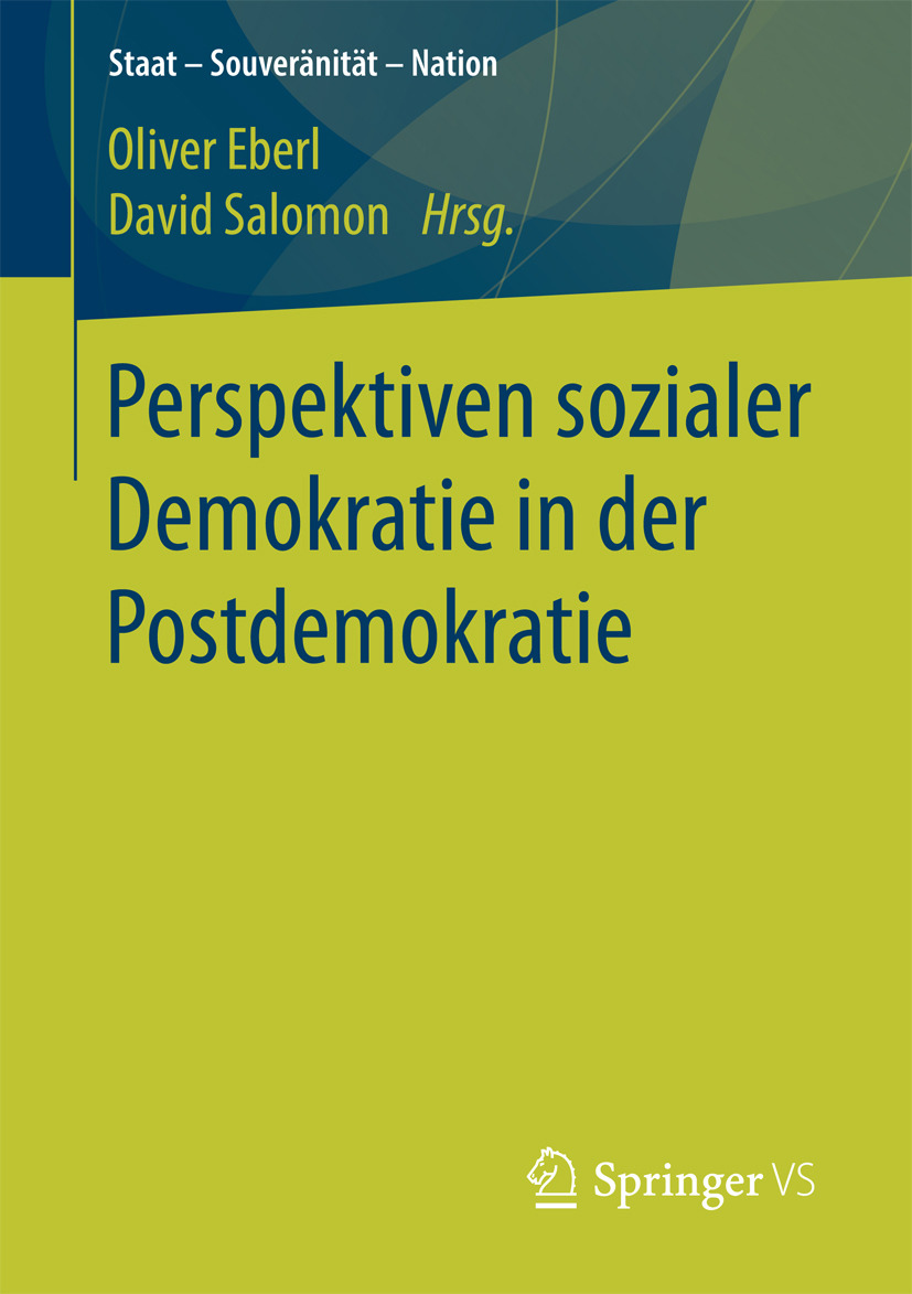 Eberl, Oliver - Perspektiven sozialer Demokratie in der Postdemokratie, ebook